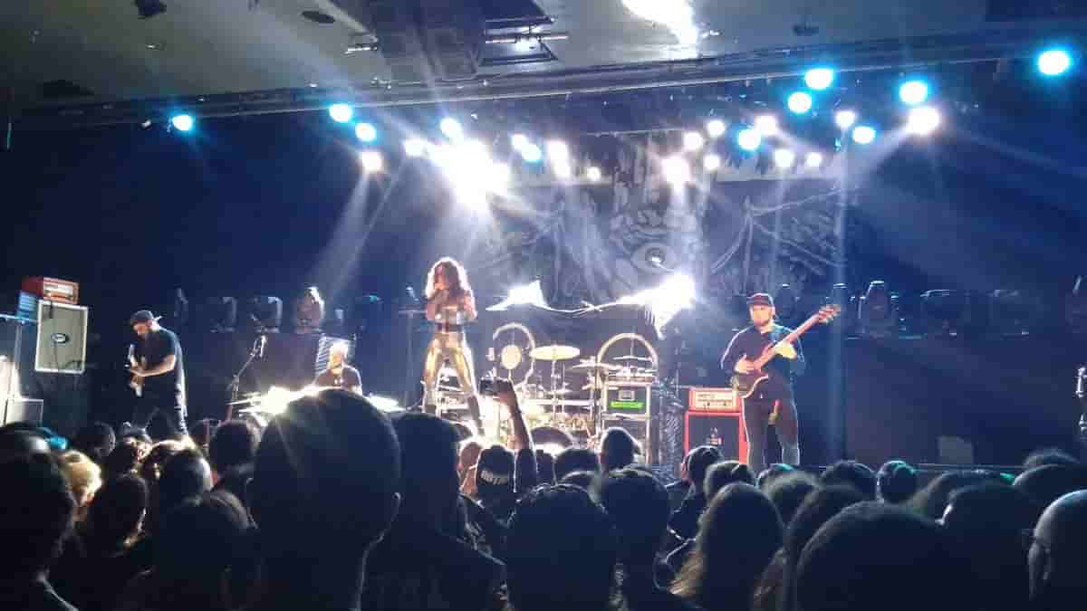 Jinjer Live at Madrid